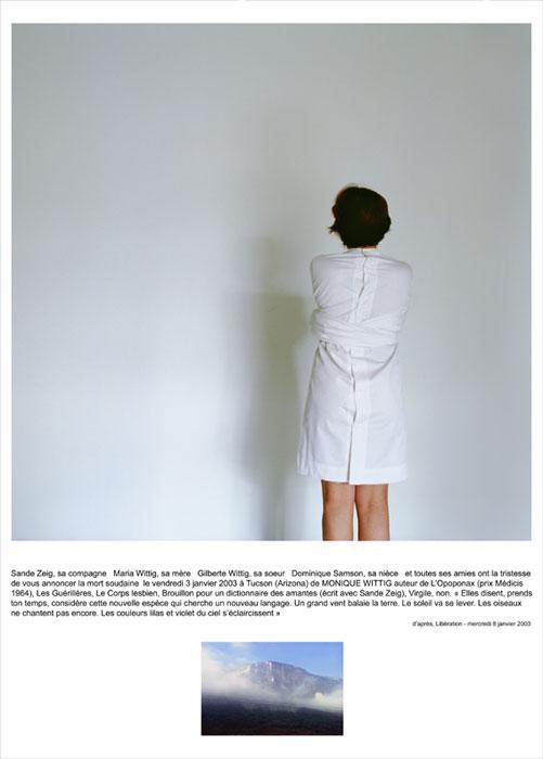 Monique, 2006, color lambda print, mounted on aluminium 170x125cm
