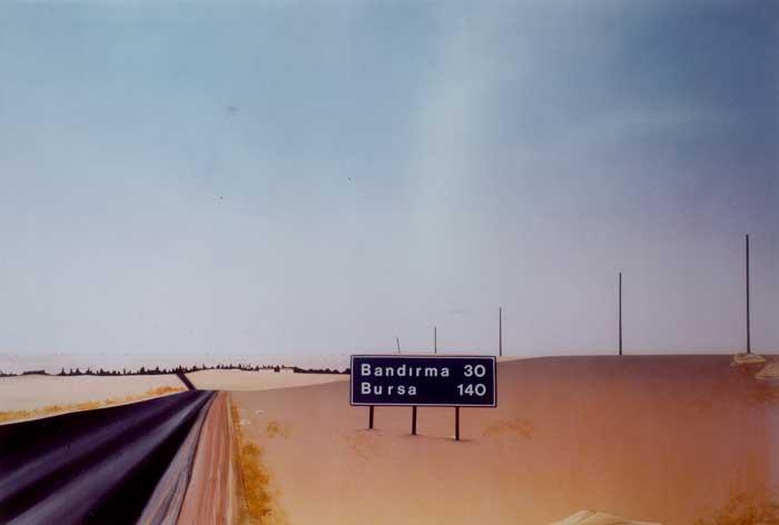 Bandirma, 1983, plywood, acrylic